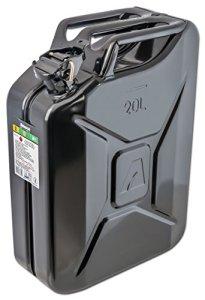 Bidon à carburant 20l, noir, en métal Arnold 6011-X1–2002