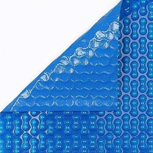 Boîtier piscine été GeoBubble 700microns avec renfort de polyéthylène pour famille piscine de 6x 6mètres (30cm) Unique. 6x18metros