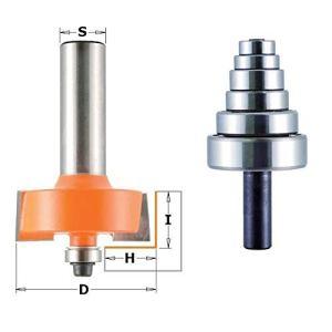 CMT Orange Tools 935,502,11 Fraises Set rebajes 0-12,7 s 12 d 35 x 19 cm
