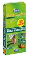 Engrais organique pour gazon viano «robot & mulching, sac de 20 kg pour 400 m²