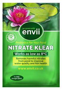 Envii Nitrate Klear – Traitement Qui Élimine Le Nitrate Des Bassins et Aquariums et Éliminateur De Nitrite – 6 Tablettes