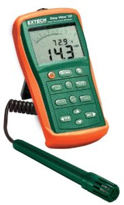 Extech EA25facile vue Hygro-Thermomètre et enregistreur de données