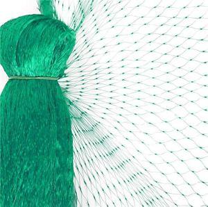 FEIGO Filet de Jardin Anti-Oiseaux – Filet de Protection Maille Contre Oiseaux et Animaux 10×4m – pour Bassin, Fruits, Légumes et Plantes – Vert