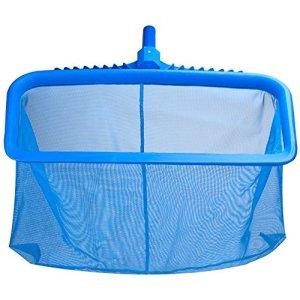 Filet en plastique ultra-résistant Professional Râteau à feuilles Epuisette de fond Pour nettoyage de piscine (Type-A)
