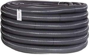 HOLZBRINK Tuyau d'Aspiration et de Refoulement 50 mm (2''), Tuyau Spiralé en PVC Renforcé pour Etangs, Longueur: 50 m, HVS-06-50