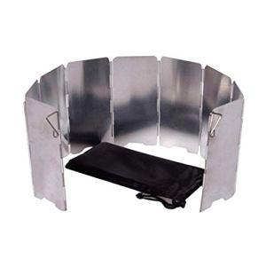 JK-2 Mini-Glace Pliable Camping Poêle Coupe-Vent Plaque de Cuisson en Plein air de Pique-Nique Utilisation en Alliage d'aluminium