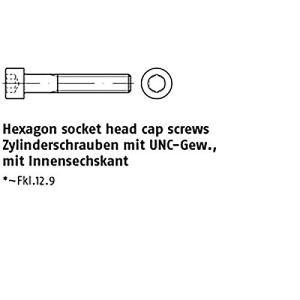 Lot de 10 vis à tête hexagonale ART 83912-1 1/2-6 UNC x 4 102 mm