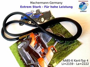 Machermann N° 136 Courroie trapézoïdale AA 85