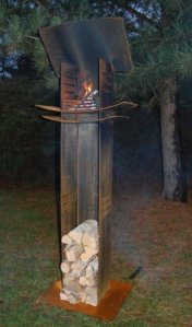 Nielsen Outdoor chauffe terrasse The Light tower