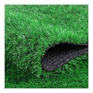 NINGWXQ Gazon Artificiel Gazon Tapis Gazon Artificiel Green Moquette D'extérieur Au Mètre Pelouse Praticable Balcon, Terrasse, Jardin, Etc (Color : B 3cm, Size : 2x2m)