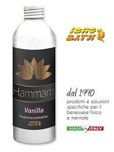 Parfum énergisantes Vanilla concentré 500ml–Parfums pour bain turc et Hammam–Livraison immédiate