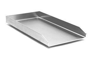 Plancha en inox – Plaque de cuisson – Plaque à frire 495x330x4mm