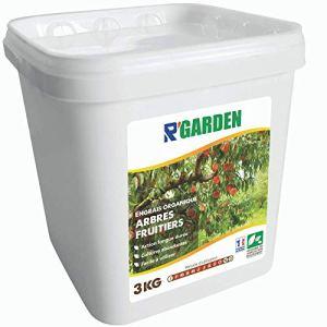 R'Garden | Engrais Organique Arbres Fruitiers | Engrais Ecologique | Fertilisant Naturel | Nourrit en Profondeur | Facile d'Utilisation | 3KG