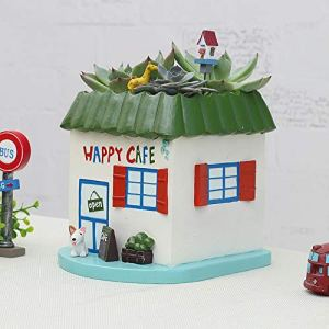 Rishx Moderne Bureau de Style Pot de Fleurs Plante Verte Porte Planteur Komori Salon Maison Décoration Bureau Cache-Pot décoratif de Bureau Artisanat (Taille : 2)