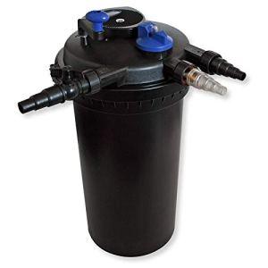SunSun CPF-15000 Filtre de Bassin à Pression avec UV 18W jusqu'à 30000l Nettoyage Facile