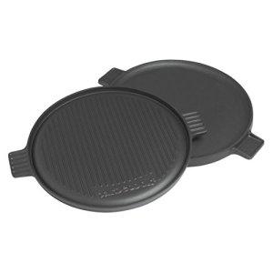 Barbecook Contact Plaque pour Barbecue Noir 35 x 2 x 35 cm