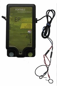 Creb EP1300 Box Electrificateur Plastique Noir/Vert 15 x 22,5 cm