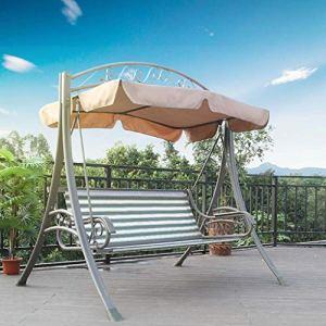 FEFEFEF Hamac en Plein air Chaise berçante en Plein air hamac Double balançoire Loisirs Chaise de Jardin balançoire Jardin Balcon hamac,2