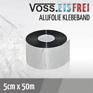 Feuille adhésive en aluminium VOSS.eisfrei, 5cm x 50m pour câble chauffant antigel