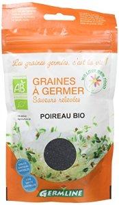 Germ'Line Graines Poireau à Germer 50 g – Lot de 2