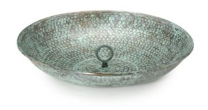 Good Directions 479V1 Copper Rain Chain Basin, Antiqued Finish by Good Directions