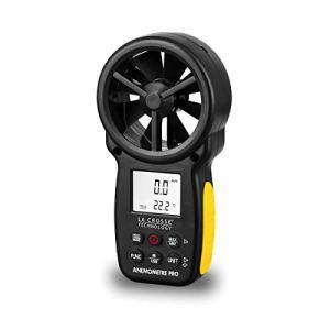 La Crosse Technology WS9501 Anémomètre, Noir/Jaune