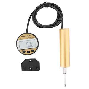 Lecxin Jauge d'indicateur de sonde, 0-25,4 mm 0,01 mm Outil de jauge d'indicateur numérique de Type à Distance précis ± 0,03 mm Jauges de Test Indicateur numérique