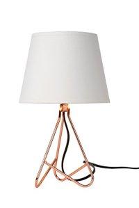 Lucide GITTA – Lampe De Table – Ø 17 cm – Cuivre