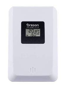 Oregon thgr-221capteur à Distance/thermomètre/hygromètre, Blanc