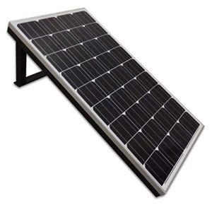 Panneau solaire Ketrop 130 W sur un simple standard