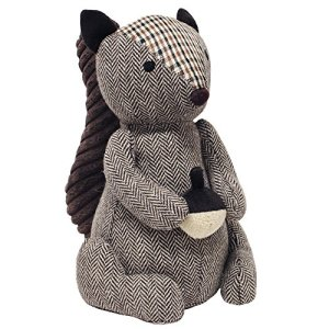 Riva Paoletti Squirrel Doorstop – Heavyweight Sand Filling – 100% Polyester – 16 x 25 x 13cm (6″ x 10″ x 5″ inches) – Designed in the UK