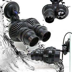 SunSun Dual-Pompe de Brassage Wavemaker Aquariums Eau douce et salée 12000l/h24W