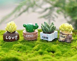 SwansGreen Green Plante miniature pour maison de poupées bonsaï