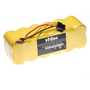 vhbw Batterie NiMH 3000mAh (14.4V) pour aspirateur Robot de maison Profimaster Robot 2712, DIbea X600 comme LP43SC2000P, Ariete AT5186005100