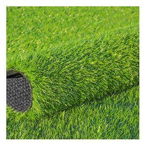 YNGJUEN Gazon Artificiel Herbe Haute 2 cm Haute densité Vacances pelouse Jardin for Animaux de Compagnie Chien Pad Jardin Jardin extérieur décoration (Size : 2x10m)