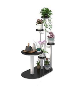 YYH Multifonctionnel Salon Chambre Stand De Fleurs Bureau Table Basse Support De Fleurs Combinaison Canapé Support De Fleurs Multifonctionnel Étage Vert Fleur Plateau