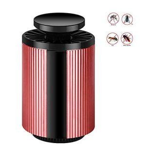 yzdhaxa LED Tueur De Moustiques Tueur De Moustiques Tueur De Moustiques Domestique Adapté pour 101-150 Mètres Carrés Équipé d'une Réduction De Bruit Muet d'onde Lumineuse De 365 Nm Rouge