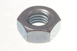 500 X Hex noix de tête de 10 mm de BZP M10 en acier zingué