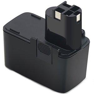 Batterie 2 607 335 055,POWERAXIS 12V NI-MH Batterie Perceuse pour Bosch BAT011 2607335244 2 607 335 039 2 607 335 054 2 607 335 055 2 607 335 071 PSR 120 PSR 12 VES-2 PSR 12 VE