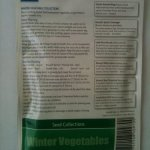 Collections de semences de l?gumes d'hiver, 6?vari?t?s de l?gumes – 1
