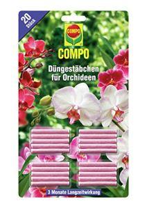 Compo 1197802004dünges täbchen pour orchidées, Lot de 20