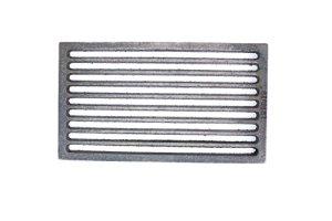 Haute Qualité 16x 28cm grille en fonte four Grille Cheminée rouille cendres Grille Grille pour feu rouille