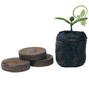 Jiffy 7tourbe Granulés de graines de croissance de jardinage Plante Lot de 10033mm