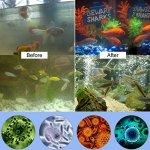 LEDGLE 13W Stérilisateur UV Aquarium, Lampe UV Submersible Lumière de Destruction d'algues Imperméable pour Purifier l'eau des Aquariums, Bassins,Bocal à Poissons
