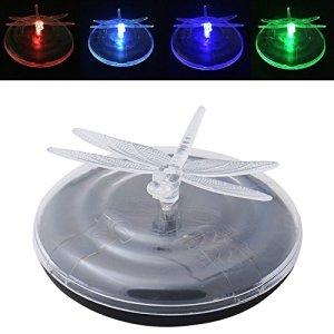 L'énergie solaire a conduit changement de couleur RVB flottante Veilleuse Lampe Chemin piscine bassin Noël vacances Festival Éclairage B