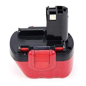 POWERGIANT 12V 3.0Ah NIMH Batterie pour Bosch PSR 12, PSR 12-2, PSR 12 VES-2, GSR 12VE-2, PSB 12VE-2, GSB 12VE-2, 2607335273, 2607335274, 2607335415, BAT045