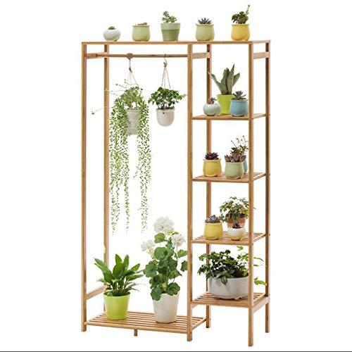 XHCP Support pour Fleurs – Bambou Multicouche Balcon intérieur Rack Multi-Usage Tridimensionnel Durable