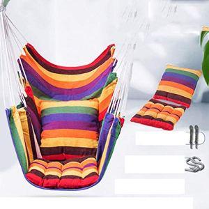 Yuanyuanliu Chaise Dortoir Dortoir des Étudiants Suspendus en Plein Air Hamac De Loisirs Intérieur for Dormir Enfants Adultes Balançoire Berceau De La Maison (Color : B)