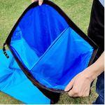 Yuanyuanliu Sacs Gonflables Canapé Lit Portable Air Gonflable Hamac Simple sans Camping en Plein Air Matelas d'air De Camping (Color : B)