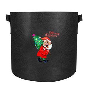 ZOOMY Christmas Garden Plant Grow Bag Potager Flower Pot Planter